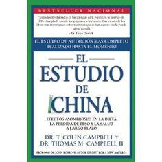El Estudio de China: Efectos Asombrosos En La Dieta, La Perdida de Peso y La Salud a Largo Plazo (Spanish Edition) (Paperback)  http://www.redkabbalahstrings.com/april.php?p=1935618784  1935618784