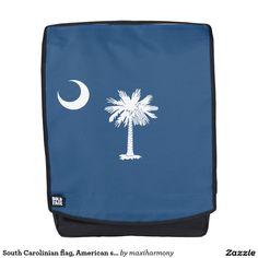 South Carolinian flag, American state flag Backpack
