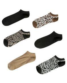 Jungle 6 Pack Socks from WetSeal.com