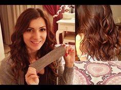 ▶ Capelli mossi senza piastra e senza ferro! SOS capodanno - YouTube