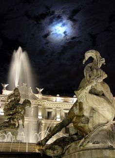 Fontana delle Naiadi, Piazza della Repubblica, Rome, Italy