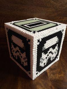 3D cubo de soldados de asalto  Starwars Pixel arte por PixelMart1
