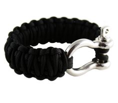 Parachord braclet - hubby and I have these survival straps. Always wear when climbing, hiking, etc
