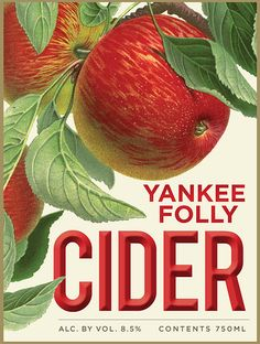 Yankee Folly, cider, hard cider, local hard cider