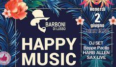Happy MUSIC @ Barboni Di Lusso http://affariok.blogspot.it/