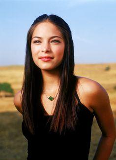 Kristin Kreuk as Lana Lang in #Smallville - Season 1