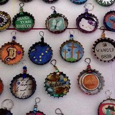 Bottlecap Art craft-ideas