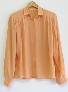 Plus size vintage shirt with shoulder pads! Plus Size Vintage, Vintage Shirts, Shoulder Pads, Size 14, Trending Outfits, Sleeves, Stuff To Buy, Shopping, Tops