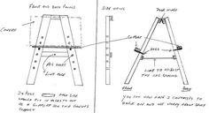 Painting Tip: How To Make A Simple Easel