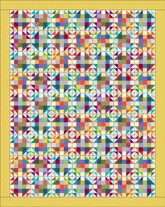 Fireweed is Bonnie Hunter's Addicted to Scraps block in Quiltmaker Sept/Oct '14.
