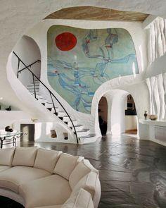 Organic Architecture, Interior Architecture, Interior And Exterior, Futuristic Architecture, Colour Architecture, Futuristic Interior, Dream Home Design, My Dream Home, House Design