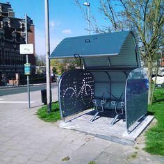 Just another Friday in beautiful Belgium! #Veloboxx #bikestorage #bikemobility #belgium #brussels #auderghem #fiets #velo #bicycle #bicicletta #bicicleta #fahrrad #cykel #tgif #urban
