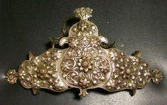 Antique 19th C Ethnic Greek Macedonian Folk Costume Hammered Silver Belt Buckle | eBay