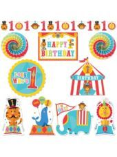 Fisher Price 1st Birthday Room Decorating Kit 10pc - Party City