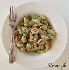 A simple tuna pesto pasta salad recipe that is perfect for any summer barbeque or lunch!