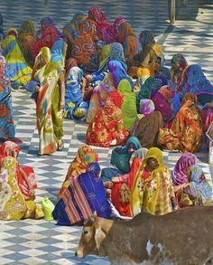 colorful Saree's