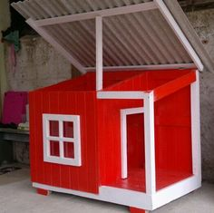 How to Build A Dog House Dog House Designs Ideas How to Build A Dog House. Dog houses are now not just a matter of shelter for dogs. House 2, Dog House Bed, Build A Dog House, Puppy House, Dog Bed, Pet Hotel, Cool Dog Houses, Wood Dog, Outdoor Dog