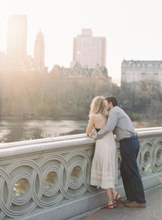 Urban Love: Engagement Inspiration By City - Style Me Pretty