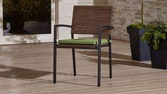 Rocha II Dining Arm Chair with Sunbrella ® Cushion