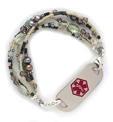 laurenshope.com - many beautiful styles. Great idea if you know someone who needs to where a medical id.