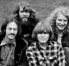 Credence Clearwater Revival or CCR...one of the GREATEST American rock bands.