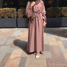 Introducing our new versatile Bella abayas. Features bell arms and a belt attached. Can be easily dressed up or down. Comes complete with a matching hijab. Made up from high quality Nida fabric. Modest Fashion Hijab, Modern Hijab Fashion, Muslim Women Fashion, Hijab Fashion Inspiration, Islamic Fashion, Abaya Fashion, Fashion Outfits, Modest Outfits Muslim, Modern Abaya