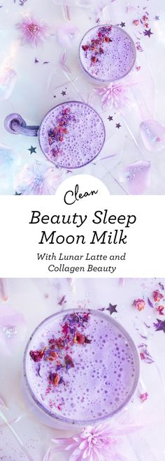 Ever heard of beauty sleep? Yeah, it's important, a good nights sleep does a wor. - Ever heard of beauty sleep? Yeah, it's important, a good nights sleep does a world of good inside - Yummy Drinks, Healthy Drinks, Healthy Recipes, Milk Shakes, Smoothies, Smoothie Recipes, Moon Milk Recipe, Bebidas Detox, Tea Latte