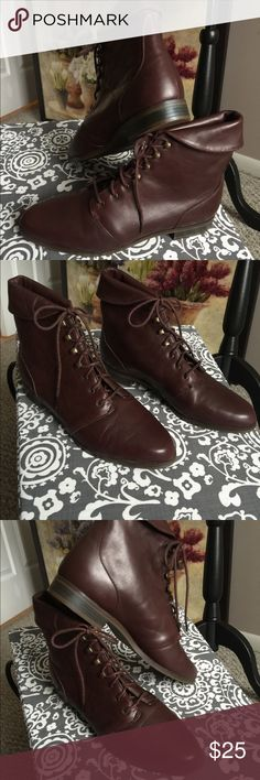 NEW West 31st, Vintage lace up ankle boots size 10 NEW West 31st, woman's lace up ankle boots size 10, without tags and in perfect condition. These vintage boots and so cute!  Lace up with metal grommets and lacing tacks. Great for your fall boot collection. West 31st Shoes Lace Up Boots