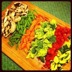 We  veggies!! #organic #raw #tasty #vegetarian #natural #healthy #healthfood #vegetables