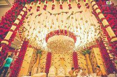 33 ideas diy wedding arch beach ideas for 2019 Wedding Table Themes, Wedding Hall Decorations, Marriage Decoration, Wedding Centerpieces, Backdrop Decorations, House Decorations, Backdrops, Wedding Mandap, Telugu Wedding