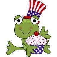 Patriotic Frog