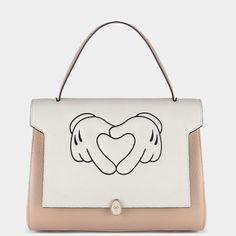 Anya Hindmarch Heart Hands Small Satchel, $1,137; anyahindmarch.com   - ELLE.com (=)