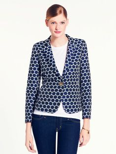 millie blazer, kate spade....love this whole new collection!