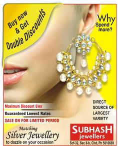 find the ‪#‎best‬ ‪#‎collection‬ for silver jewellery http://www.subhashjeweller.com