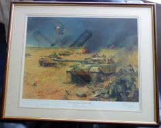 Terence Cuneo Signed Operation Desert Storm 1991 50/850
