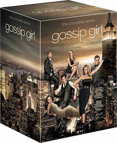 Gossip Girl Dvd Set Season 1 2 3 4 5 6 Seasons 1-6 Complete Series Box Set