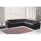 Found it at Wayfair - Reclining Leather Sectional