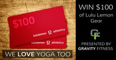 $100 Lululemon Gift Card