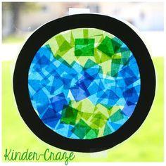 Celebrate Earth Day All Week Long - Kinder Craze: A Kindergarten Teaching Blog