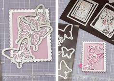 Crafting ideas from Sizzix UK: Butterflies card
