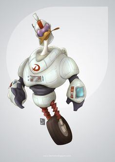 Gizmoduck by Silly Nate