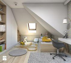 Dom jednorodzinny 7 - Średni pokój dziecka dla chłopca dla malucha, styl skandynawski - zdjęcie od BAGUA Pracownia Architektury Wnętrz