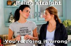 """Are you guys even TRYING to pretend they're straight anymore? 