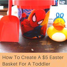Frugal Easter Basket! #Easter #easterbasket