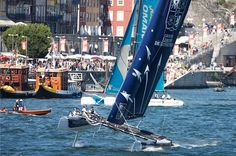 Portugal. Extreme Sailing Series 2012. Acto 4.