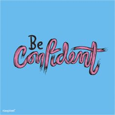 be confident illustrations : free vector by rawpixel.com