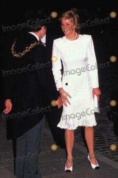 Princess Diana Royal Baby College 1989 Photo by Dave Chancellor-alpha-Globe Photos