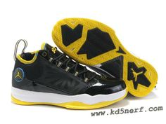 b9e412cbd38b1a Jordan CP3 IV Chris Paul Shoes Black Yellow Chris Paul Shoes