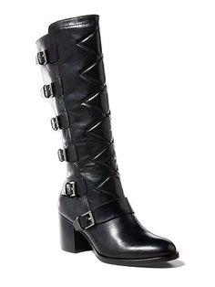 7b6b87ee9 Georgianne Leather Boot - Lauren All Shoes - RalphLauren.com