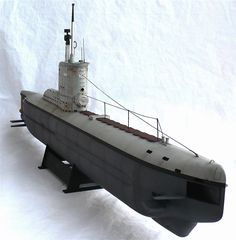 "Here are some images of Bronco Models 1/35 scale U Boat type XXIII coastal Submarine.   From Wikipedia""  German Type XXIII submari..."